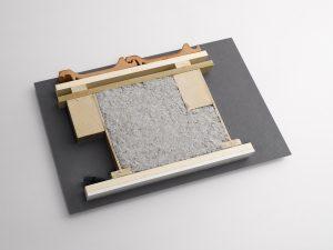 La poutre en T sparenexpander est la solution idéale pour créer des caisons d'insufflation.