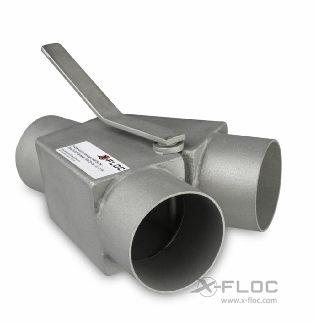 aiguilleur de flux pour tuyau cardeuse souffleuse x floc